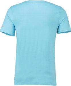 NIKE アトレティコマドリード 2018/19 エンブレム Tシャツ Blue