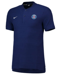 NIKE パリ サンジェルマン 2018/19 オーセンティック グランドスラム ポロシャツ Blue