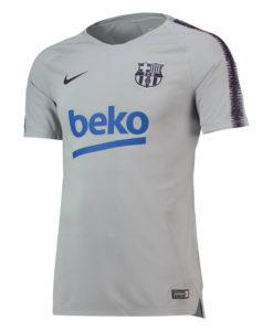 NIKE FCバルセロナ 2018/19 Squad トレーニング トップ Grey