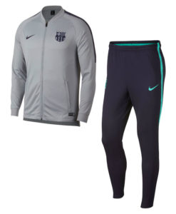 NIKE FCバルセロナ 2018/19 Squad ニット トレーニングスーツ Grey