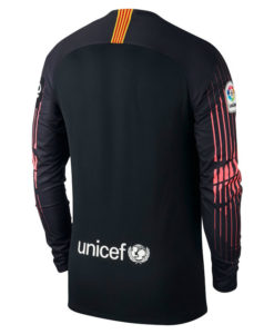 NIKE FCバルセロナ 2018/19 ゴールキーパー シャツ Black