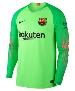 NIKE FCバルセロナ 2018/19 ゴールキーパー シャツ Green