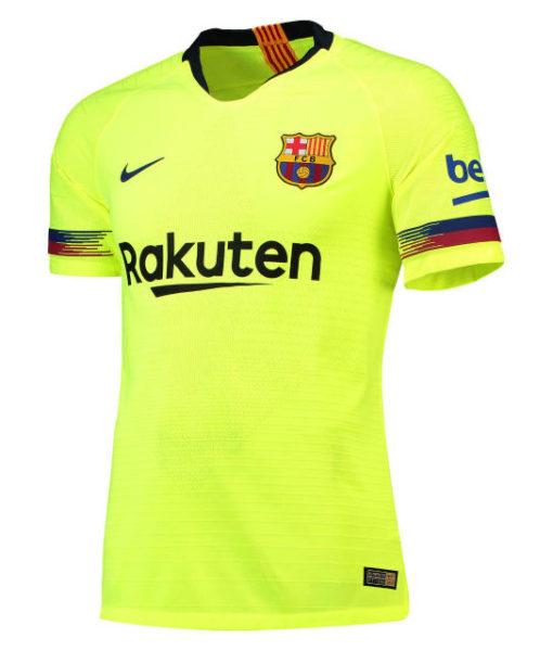 NIKE FCバルセロナ 2018/19 アウェイ ヴェイパーマッチ シャツ  1