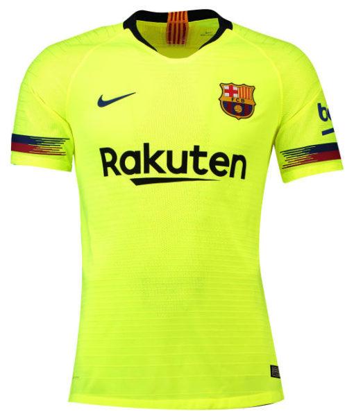 NIKE FCバルセロナ 2018/19 アウェイ ヴェイパーマッチ シャツ