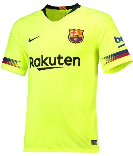 NIKE FCバルセロナ 2018/19 アウェイ スタジアム シャツ  1