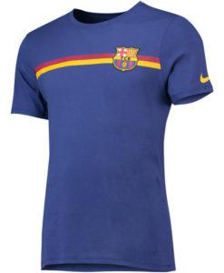 NIKE FCバルセロナ 2018/19 エンブレム Tシャツ
