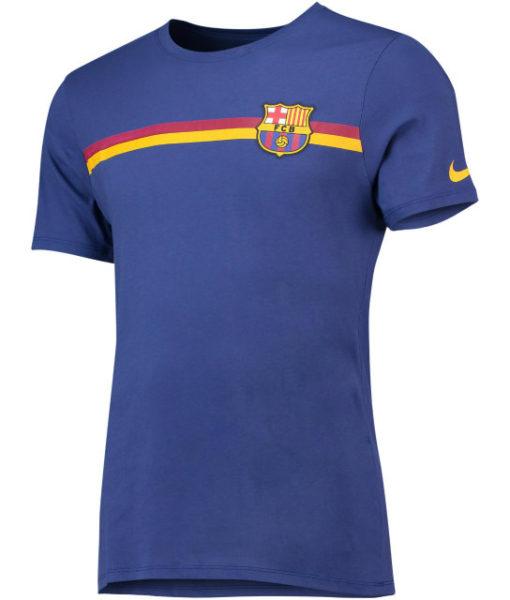 NIKE FCバルセロナ 2018/19 エンブレム Tシャツ  1