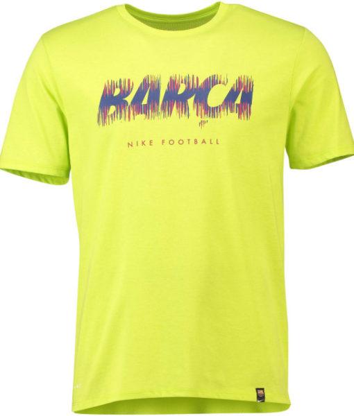 NIKE FCバルセロナ 2018/19 プレシーズン Tシャツ Yellow