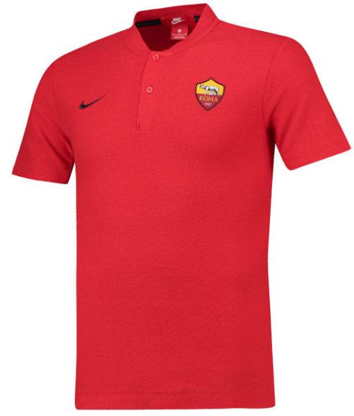 NIKE ASローマ 2018/19 オーセンティック グランドスラム ポロシャツ Red 1