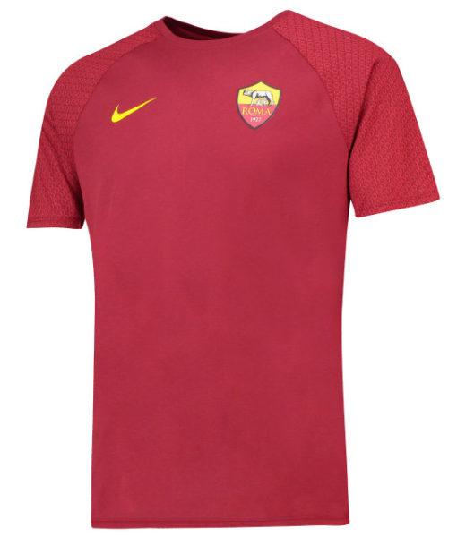 NIKE ASローマ 2018/19 マッチ Tシャツ Red 1