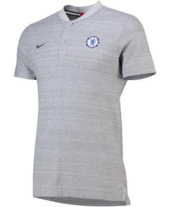 NIKE チェルシー 2018/19 オーセンティック グランドスラム ポロシャツ Grey