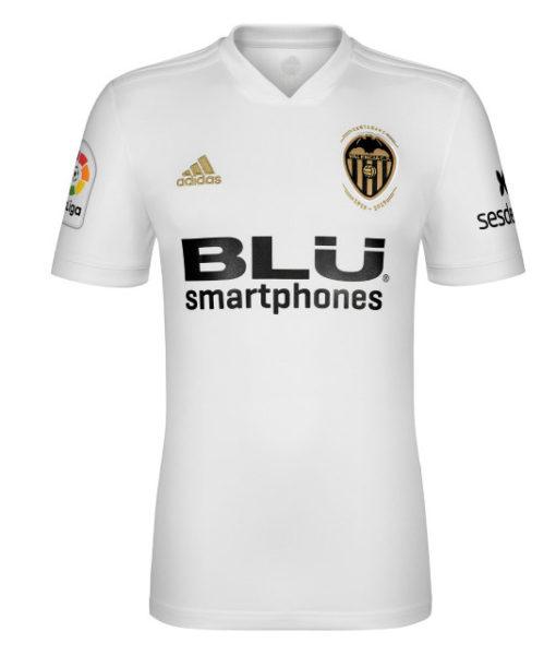 adidas バレンシア 2018/19 ホーム シャツ  1