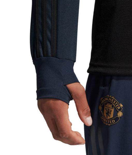 adidas マンチェスターユナイテッド 2018/19 UEFA CL トレーニング トップ Navy