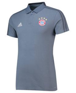 adidas バイエルン ミュンヘン 2018/19 UEFA CL トレーニング ポロシャツ Grey