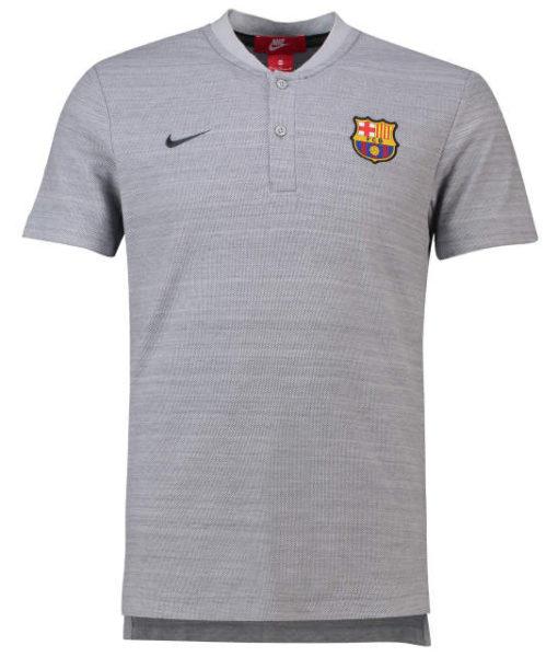 NIKE FCバルセロナ 2018/19 オーセンティック グランドスラム ポロシャツ Grey