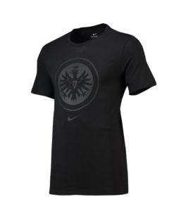 NIKE フランクフルト 2018/19 エンブレム Tシャツ Black
