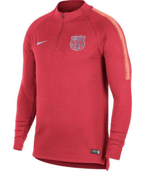NIKE FCバルセロナ 2018/19 Squad ドリル トップ Pink 1