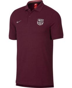 NIKE FCバルセロナ 2018/19 コア ポロシャツ Maroon