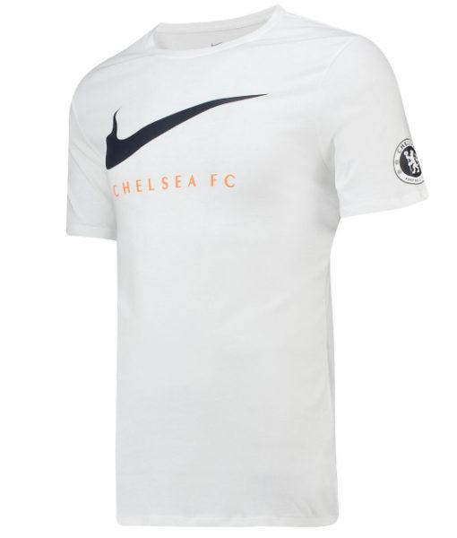 NIKE チェルシー 2018/19 スウッシュ Tシャツ White 1