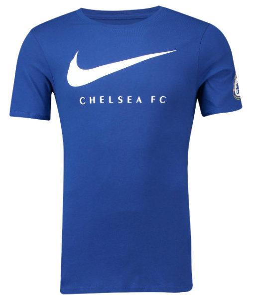 NIKE チェルシー 2018/19 スウッシュ Tシャツ Blue