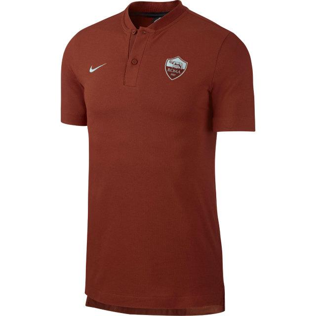 NIKE ASローマ 2018/19 オーセンティック グランドスラム ポロシャツ Red