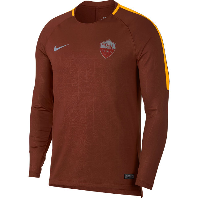 NIKE ASローマ 2018/19 プレマッチ トップ Brown