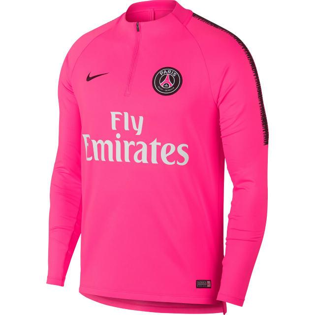 NIKE パリ サンジェルマン 2018/19 Squad ドリル トップ Pink