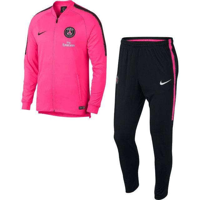 NIKE パリ サンジェルマン 2018/19 Squad トレーニングスーツ Pink