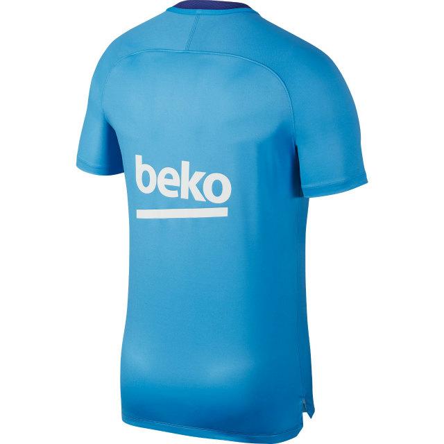 NIKE FCバルセロナ 2018/19 プレマッチ トップ Blue