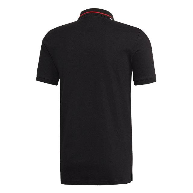adidas マンチェスターユナイテッド 2018/19 トレーニング ポロシャツ Black