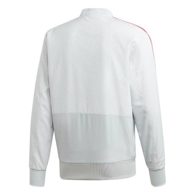 adidas マンチェスターユナイテッド 2018/19 トレーニング プレゼンテーション ジャケット Grey