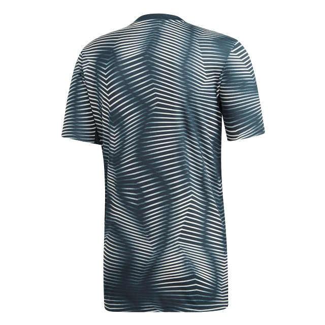adidas レアルマドリード 2018/19 プレマッチ シャツ Grey