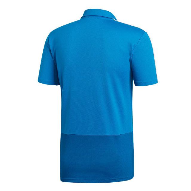 adidas レアルマドリード 2018/19 トレーニング ポロシャツ Blue