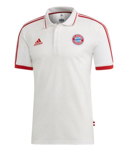 adidas バイエルン ミュンヘン 2018/19 トレーニング ポロシャツ White 1