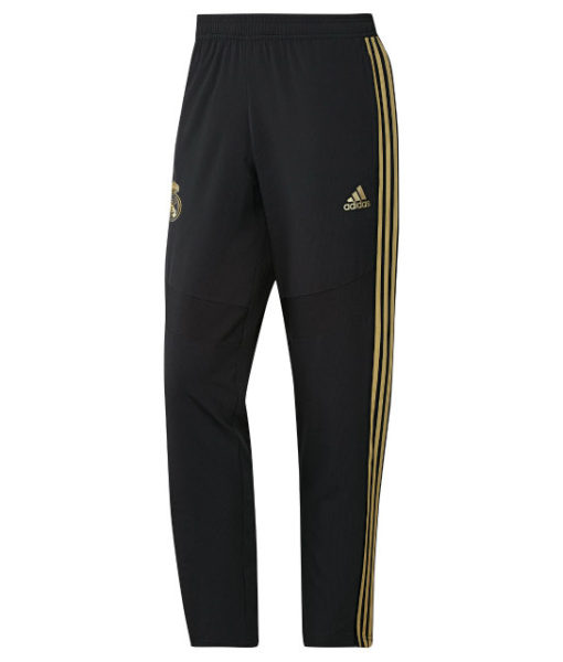 adidas レアルマドリード 2019/20 トレーニング ウーブン パンツ Black 1