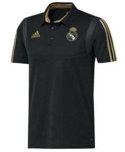 adidas レアルマドリード 2019/20 トレーニング ポロシャツ Black