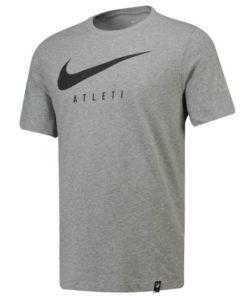 NIKE アトレティコマドリード 2019/20 スウッシュ Tシャツ Grey