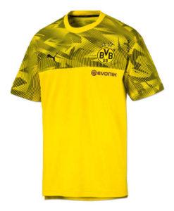 PUMA ドルトムント 2019/20 カジュアル Tシャツ Yellow