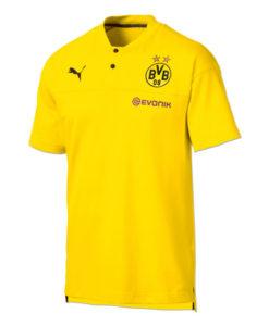 PUMA ドルトムント 2019/20 カジュアル ポロシャツ Yellow