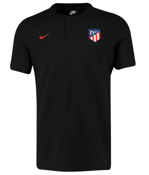 NIKE アトレティコマドリード 2019/20 オーセンティック グランドスラム ポロシャツ Black