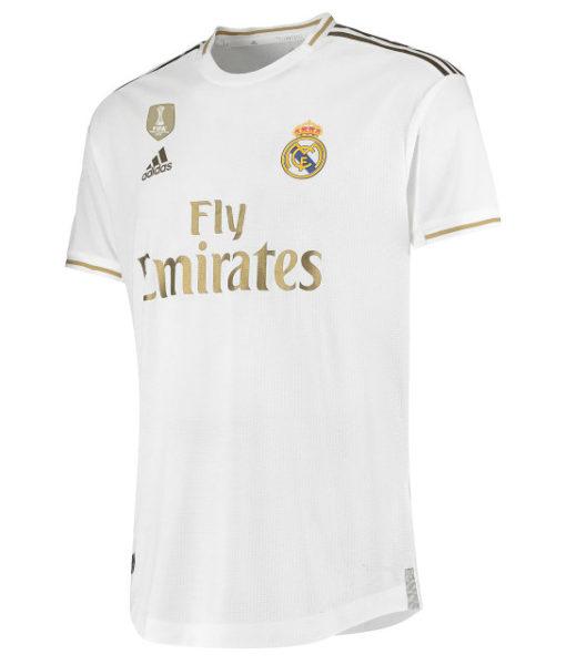 adidas レアルマドリード 2019/20 ホーム オーセンティック シャツ  1