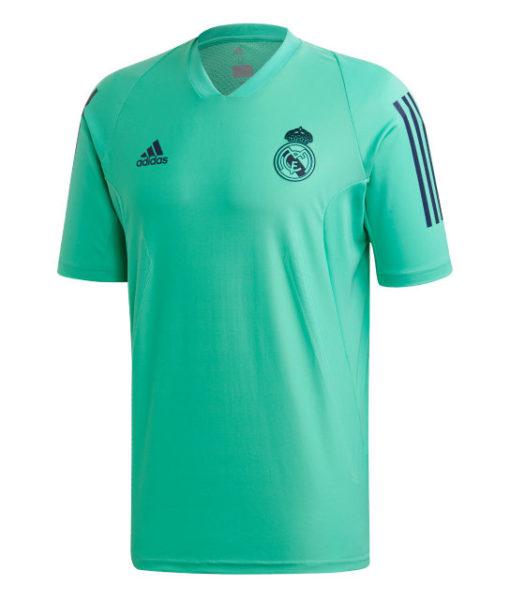 adidas レアルマドリード 2019/20 UEFA CL トレーニング ジャージー Green 1