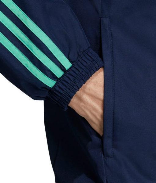 adidas レアルマドリード 2019/20 UEFA CL オールウェザー ジャケット Navy