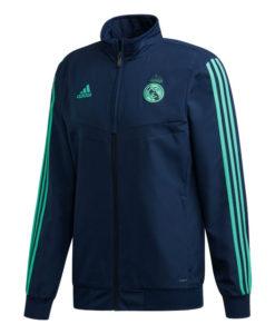 adidas レアルマドリード 2019/20 UEFA CL プレゼンテーション ジャケット Navy