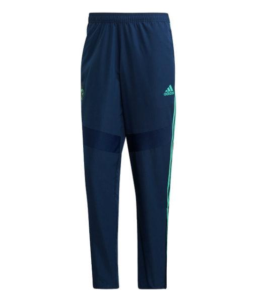 adidas レアルマドリード 2019/20 UEFA CL トレーニング ウーブン パンツ Navy 1