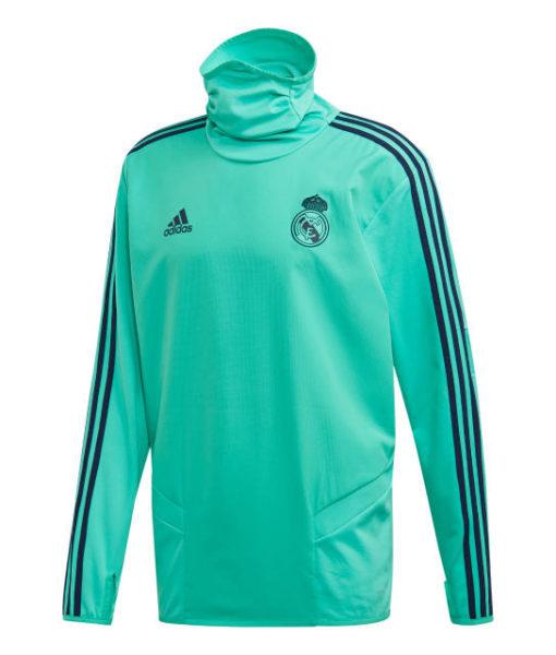adidas レアルマドリード 2019/20 UEFA CL トレーニング ウォーム トップ Green 1