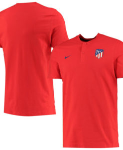 NIKE アトレティコマドリード 2019/20 オーセンティック グランドスラム ポロシャツ Red