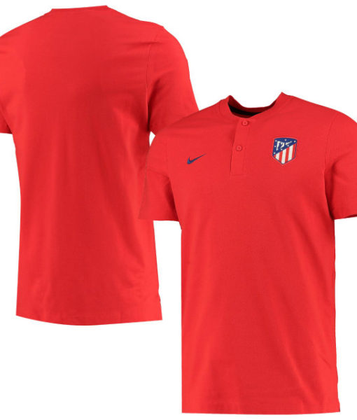 NIKE アトレティコマドリード 2019/20 オーセンティック グランドスラム ポロシャツ Red 1