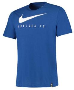 NIKE チェルシー 2019/20 スウッシュ Tシャツ Blue