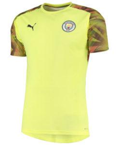 PUMA マンチェスターシティ 2019/20 UEFA CL トレーニング ジャージー Yellow